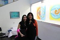 Laurelena Rodríguez y Adriana Contreras