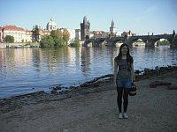 Verónica Vela en Praga