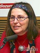 Dáša van der Horst (Photo: Alžběta Švarcová, www.rozhlas.cz)