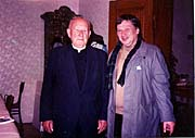 Karlheinz Filipp (rechts) mit Kardinal Tomasek