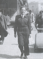 Ivy in Prague in 1950