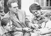 Rudolf Slánský and family