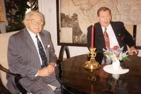 Sir Nicholas Winton and Czech Prezident Vaclav Havel