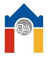 Logo Domu dětí a mládeže hl. m. Prahy