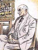 Retrato de Otakar Kubín