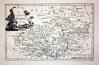 Karte Markgrafthum Maehren