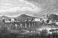 La ville de Litoměřice en 1850