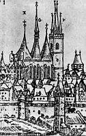 Louny en 1600