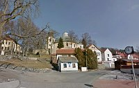Slapy et l'église Saint-Pierre et Paul, photo: Google Maps