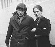 Леонид Енгибаров и Ярмила Галамкова в Москве. 1970 год. (Фото: О.Сухи)