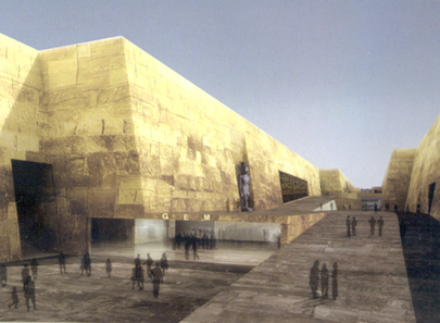 Czech project awarded in international competition for Grand Egyptian Museum | Radio Prague