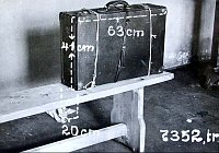 The original suitcase in which the body of Otlie Vransk was found, photo: Prague Police Museum archive