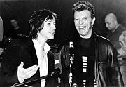 Ivan Kral and David Bowie