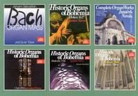 CDs aus der Editionsreihe 'Historische Orgeln Böhmens'