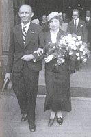 Hochzeit von Jaromír und Božena Vejvoda am 10. 9. 1935