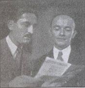 Vašek Zeman und Jaromír Vejvoda