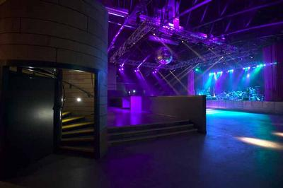 "Stage in the ""ABC nightclub + music venue&qout; in Glasgow"