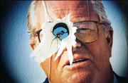 Jean Marie Le Pen - not always welcome