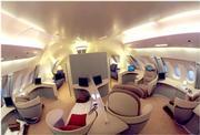 Interior of Airbus A380