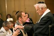 Rabbi Tom Kucera during his ordination
