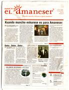"Newspaper printed in ""Ladino"""