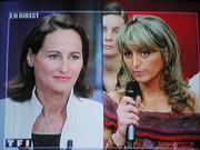 Segolene Royal in televised debate