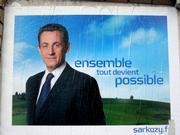 Poster of Nicolas Sarkozy