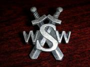 Badge of the the comunist military counter-intelligence service (WSW), which transformed into military information service (WSI) in 1990
