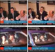 Traian Basescu driving drunk