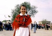 Woman from east Estonia in Swedish costume