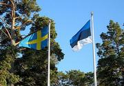 Swedish and Estonian flag