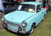 Trabant 601 - once the most common car of East Germany