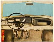 Interior of Trabant - picture from the owner's manual