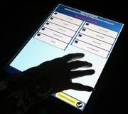 In France, voting machines will be used for the first time for a presidential vote