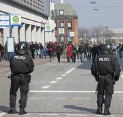 Neonazi demonstration in Lübeck, Germany