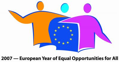 Official logo of the European Year of Equal oportunities