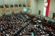 A general view of the Polish parliament as new Polish Prime Minister Donald Tusk presents his cabinet's plans