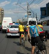 "Cycling in Bucharest is only for the ""brave"""