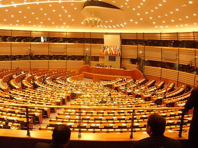 Inside European Parliament
