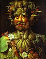Giuseppe Arcimboldo - 'Vertumnus'
