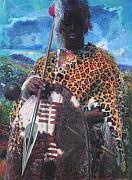 'Zulu warrior', 1963