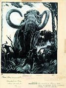 'Mammoths hunters', 1937