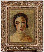 André Derain, 'Head of the young woman'