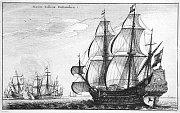 Dutch war ships, 1647