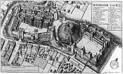 Bird's Eye View of Windsor Castle