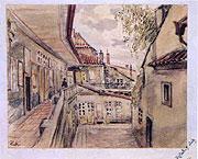 Marie Kalašová - Pavlač domu uHalánků