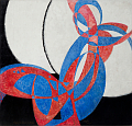 Frantiek Kupka - 'Amorpha: Fugue in Two Colours', photo: National Gallery