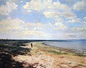 Chlapec na břehu, 1897