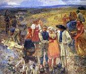 Zabitý bleskem, 1900 - 1901