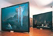 L'Epopée slave au château de Moravský Krumlov